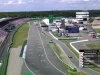 F1德国站排位赛Q1停表:巴顿涉险晋级