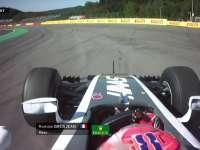 F1比利时站FP1:格罗斯让走大探索缓冲区