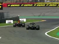 冲出赛道了?F1比利时站排位赛:罗斯伯格压线回放