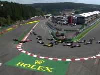 F1比利时站正赛发车:法拉利第一弯被干翻