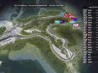 F1比利时站正赛(GPS追踪)全场回放