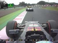 F1日本站正赛 埃里克森小失误里卡多顺势超越