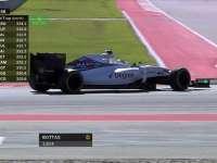 小心!F1美国站FP1:罗斯伯格被通知赛道有碎片