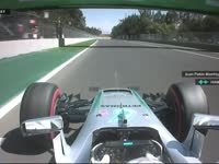 F1墨西哥站排位赛 汉密尔顿杆位圈回放