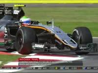 F1墨西哥站正赛:科维亚特冲出赛道获益被罚