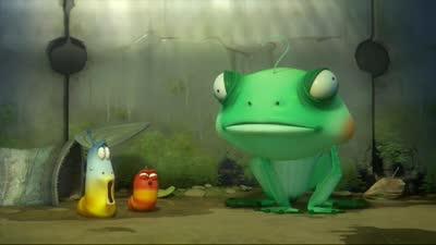 爆笑虫子 033 青蛙