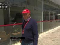 F1巴西站FP2:尼基劳达去找伯尼聊天了?