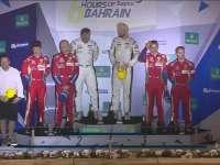 WEC巴林六小时耐力赛 GTE Pro组颁奖
