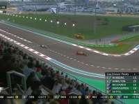 F1阿布扎比站正赛 维斯塔潘轮胎开始衰竭
