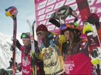 EDGE极限高山滑雪 法国小帅哥再次英勇夺魁