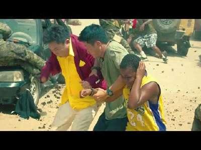 [视频]《战狼2》定档7月28日 军舰坦克开进非洲