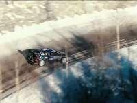 WRC蒙特卡洛站精美剪辑:阿尔卑斯雪山童话