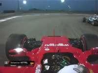 精彩发车圈 汉密尔顿发车失误维特尔轻松超越到第二