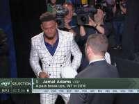 NFL2017选秀大会第6顺位 贾马尔-亚当斯(喷气机)