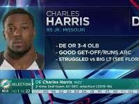 NFL2017选秀大会第22顺位 查尔斯-哈里斯(海豚)