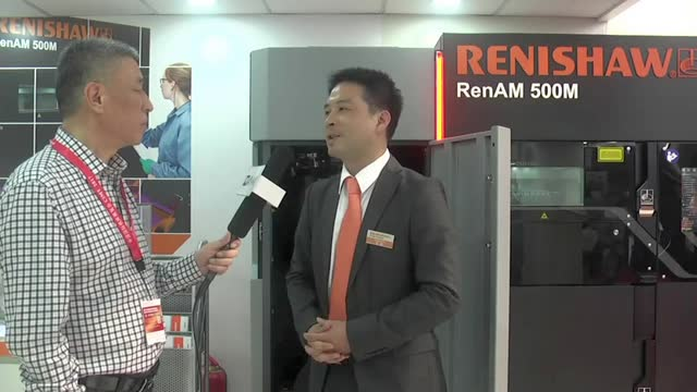 CIMT2017雷尼绍视频采访