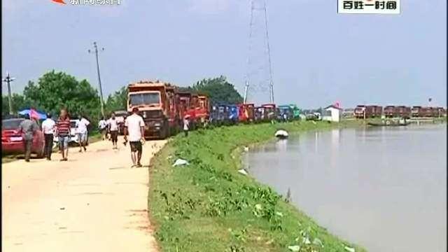 我市公安机关共出动800余名警力增援小河口险情