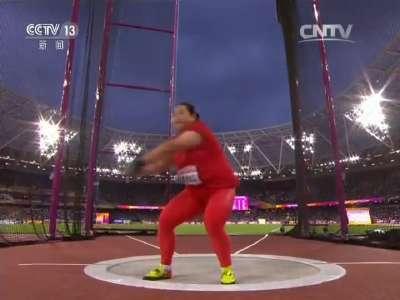 [视频]伦敦世锦赛中国收获首枚奖牌!王峥女子链球摘银
