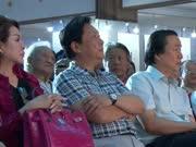 首届百位影视名人书画展开幕 唐国强徐锦江亮相