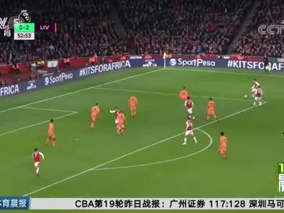 [视频]英超:阿森纳3-3利物浦 争四大战变进球盛宴!