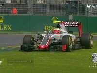 F1澳大利亚站一练 汉密尔顿古铁雷兹过弯纷纷锁死