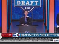 NFL选秀大会第26顺位 帕克斯顿-林奇 (野马)