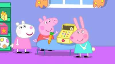 小猪佩奇祝大家儿童节快乐