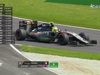 F1奥地利站排位赛Q1:佩雷兹跑着跑着后悬挂断了