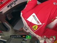 F1英国站FP1 维特尔变身拉力车手检查赛车