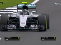 F1英国站排位赛Q3:罗斯伯格飞驰圈被法拉利阻挡