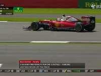 再被罚!F1英国站正赛:维特尔因逼出马萨被罚五秒