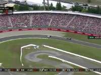 F1德国站正赛 维斯塔潘:后轮好挣扎啊