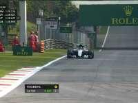 F1意大利站FP1:罗斯伯格TR报告后轮磨损