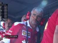F1意大利站排位赛:冲线前各家大佬心跳加速表情紧张