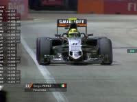 开着很奇怪?F1新加坡站FP2:佩雷兹报告赛车状况