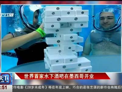 [视频]世界首家水下酒吧在墨西哥开业