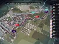 F1美国站排位赛全场回顾(GPS追踪)
