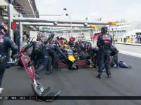 F1墨西哥站正赛:维斯塔潘进站完成一停