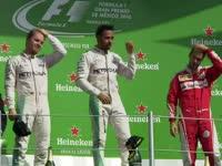F1墨西哥站正赛赛后颁奖典礼