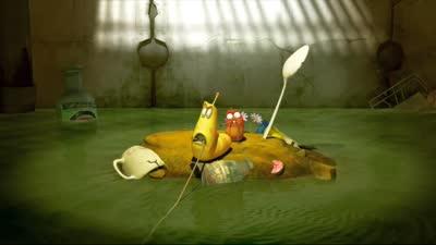 爆笑虫子 023 钓鱼