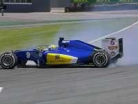 F1巴西站FP2:埃里克森赛车打滑引发黄旗
