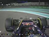 F1阿布扎比站正赛 塞恩斯变速箱受损退赛