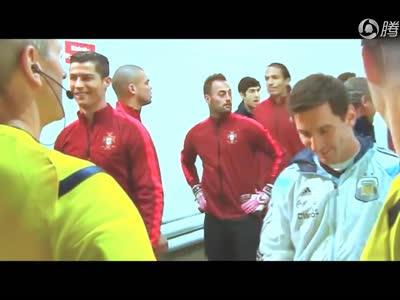 [视频]梅罗8年厮杀全对比西甲各270球 梅西10冠完胜