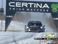 WRC瑞典站SS18:奥吉尔超过诺伊维尔0.2秒
