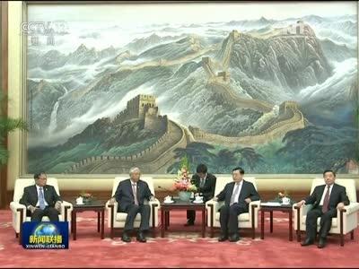 [视频]张德江会见缅甸总统