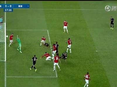 [视频]欧洲超级杯:皇马2-1力克曼联夺冠 卢卡库破门