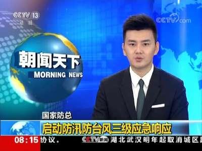 [视频]国家防总:启动防汛防台风三级应急响应