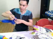 气球造型教程唐老鸭魔术气球学习