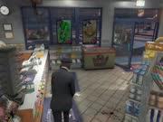 GTA5 线上模式 艺术般的犯罪!在便利店一次非常成功的抢劫