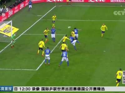 [视频]未能自我救赎 意大利60年后再次无缘世界杯
